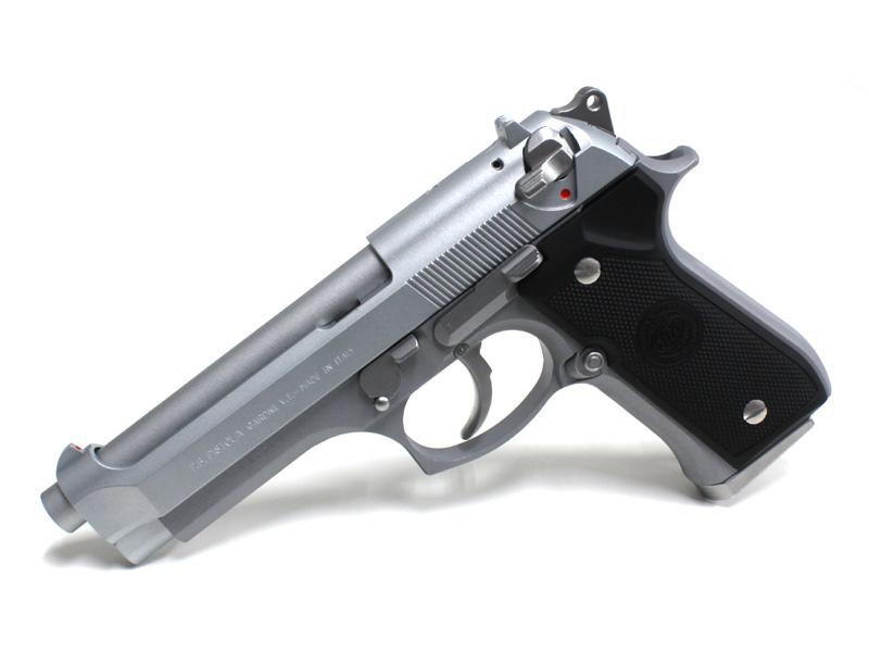 タナカ M92F Evolution High Performance ヘビーウェイト 発火式モデルガン セラコート・ステンレスフィニッシュ