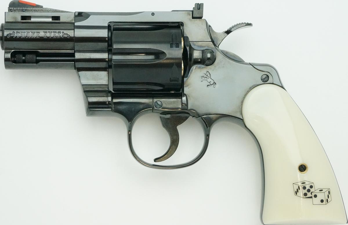 タナカ Colt Python Snake Eyes 2.5inch R-model スチール・フィニッシュ