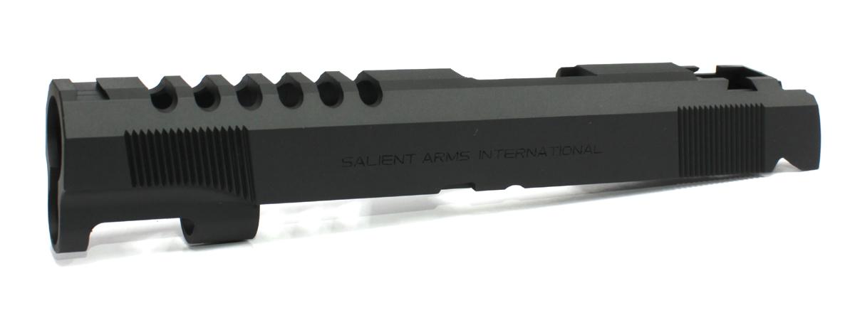 SIDEARMS 東京マルイ Hi-CAPA5.1ゴールドマッチ 純正スライド Salient Arms刻印仕様