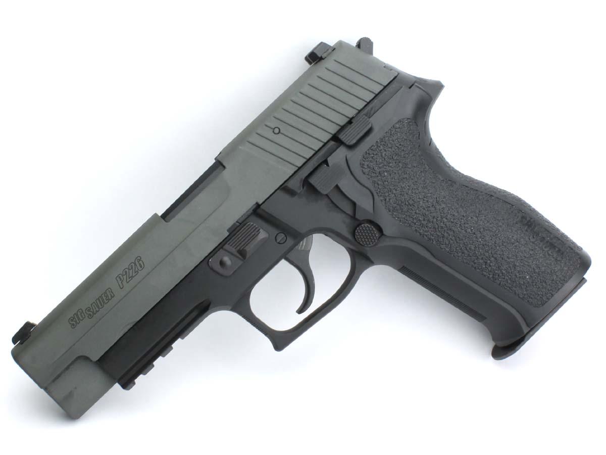 東京マルイ ガスブローバックガン SIG P226E2 アルミスライドカスタム