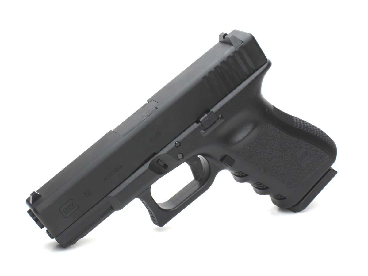 東京マルイ ガスブローバックガン Glock19 アルミスライドカスタム