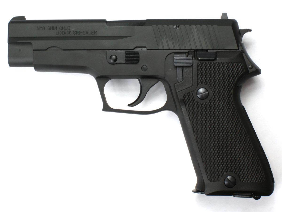 サイドアームズカスタム タナカワークス P220IC 陸上自衛隊9mm拳銃 ヘビーウェイト アルミスライドカスタム