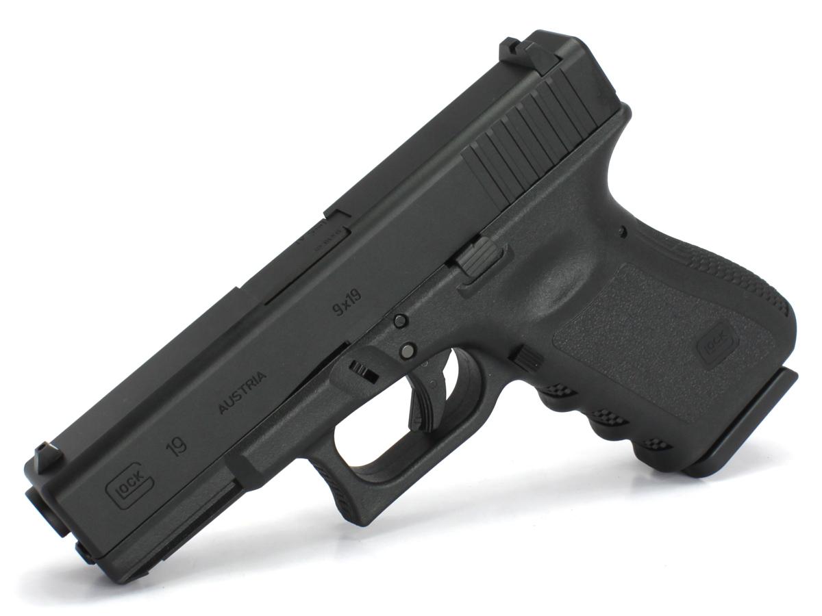 東京マルイ ガスブローバックガン Glock19 USA刻印リアルフレームカスタム