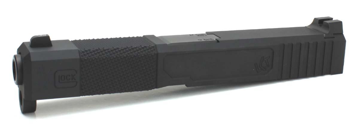 NOVA 東京マルイ Glock19専用 Loki Tctical Frankenstein Carry アルミスライド スライドブラック バレルブラック