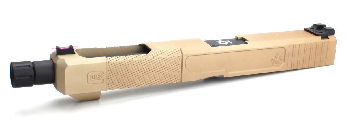 Loki Tactical Frankenstein Open Glock34タイプカスタムスライド FDE
