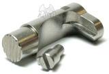 Anvil WA M1911A1シリーズ対応 WAサイズ ステンレスマガジンキャッチ セレーション