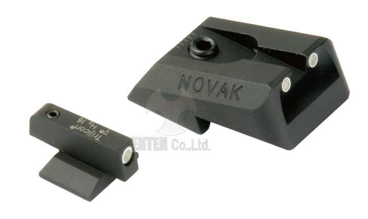 東京マルイ M45A1用ドレスアップパーツ DETONATOR M45A1専用 新作製品、世界最高品質人気! Dotタイプスティールリアサイト Tritium NOVAK LoMountCarry1911 海外限定