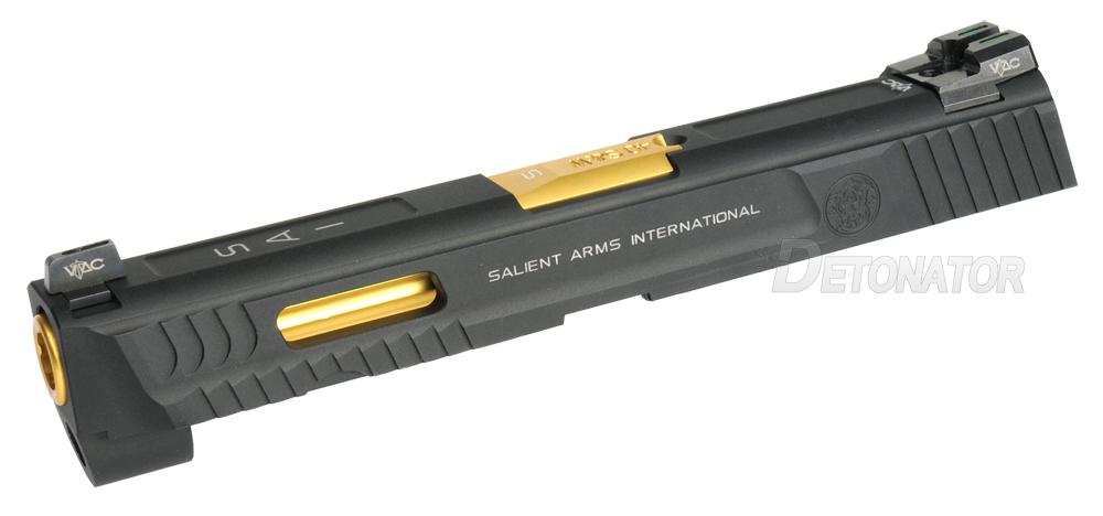 【StayHomeセール】DETONATOR WE M&P フルサイズ用 M&P .40 Salient Arms スタンダードモデル カスタムスライド ブラック【60%OFF】