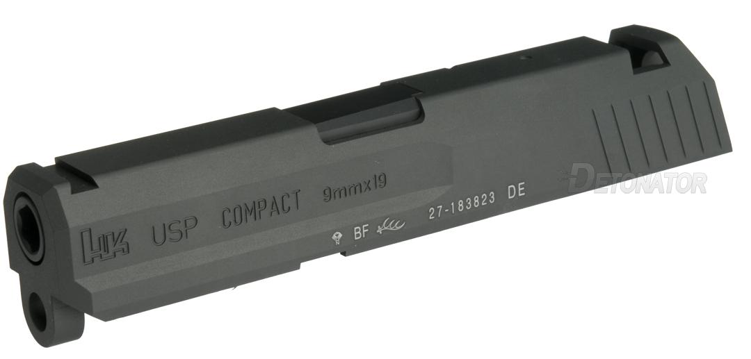 DETONATOR 東京マルイ USPコンパクト用 カスタムスライド ブラック