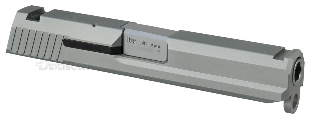 雷管 KSC 为 H & K USP.45 自定义幻灯片-银的