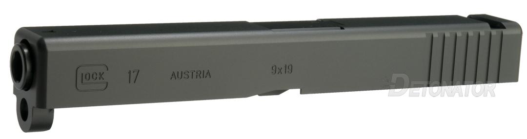 DETONATOR 東京マルイ Glock17対応 Glock17カスタムスライド ブラック 2020Ver