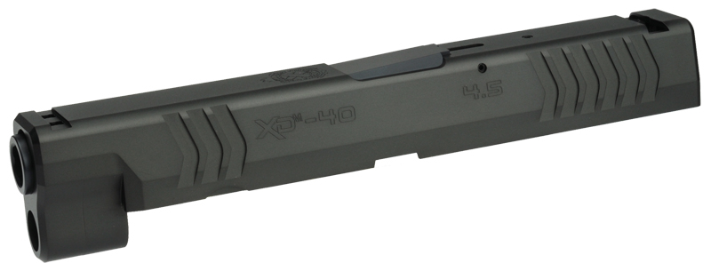 DETONATOR 東京マルイ XDM用 SFA XD(M)4.5 40SW刻印仕様 カスタムスライド-ブラック