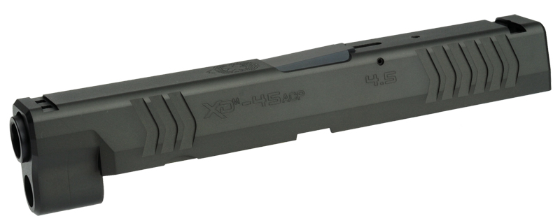 DETONATOR 東京マルイ XDM用 SFA XD(M)4.5 45ACP刻印仕様 カスタムスライド-ブラック