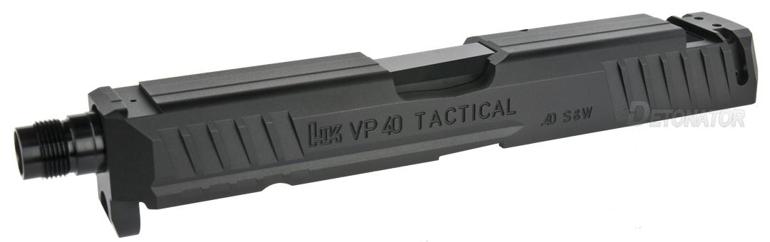 DETONATOR UMAREX/VFC HKVP9対応 アルミ削り出しVP40Tactical スライドセット