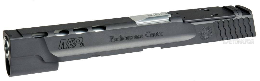 DETONATOR 東京マルイ M&P9L PCポーテッド専用 Smith&Wesson M&P9L Performance Center Ported カスタムスライド