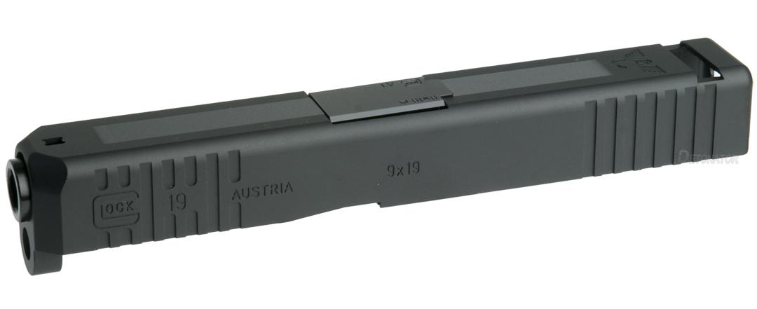 DETONATOR 東京マルイ Glock19専用 Wilson Combat Glock19カスタムスライド Black