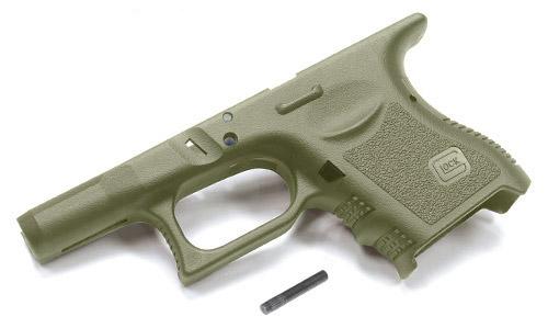 GUARDER 東京マルイ Glock26用 リアルUSA刻印 強化フレーム オリーブドラブ