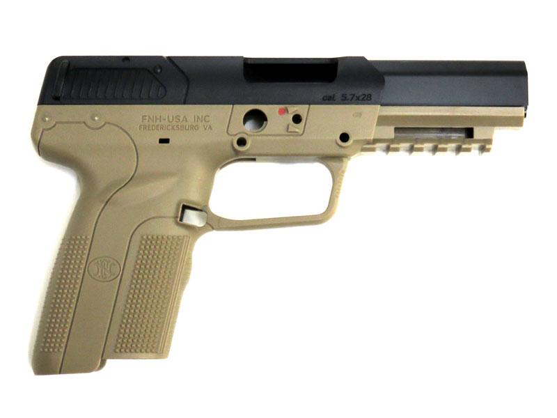 GUARDER 東京マルイFN 5-7用 リアル刻印 フレーム&スライドセット TAN