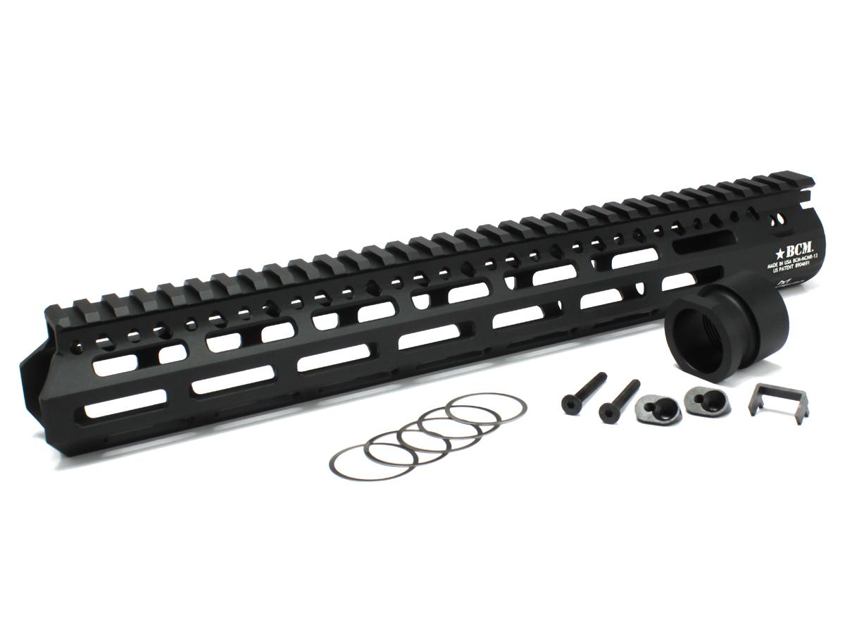 ANGRY GUN 各社M4シリーズ対応 BCM MCMR-13 M-LOK レールシステム