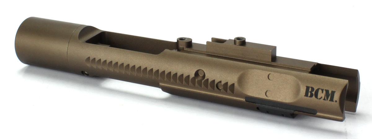 AngryGun 東京マルイ M4A1ガスブローバック用カスタムパーツ ANGRY GUN 東京マルイ ガスブローバックM4A1ガスブローバックシリーズ対応 ハイスピードアルミボルトキャリア-BCMタイプ/FDE
