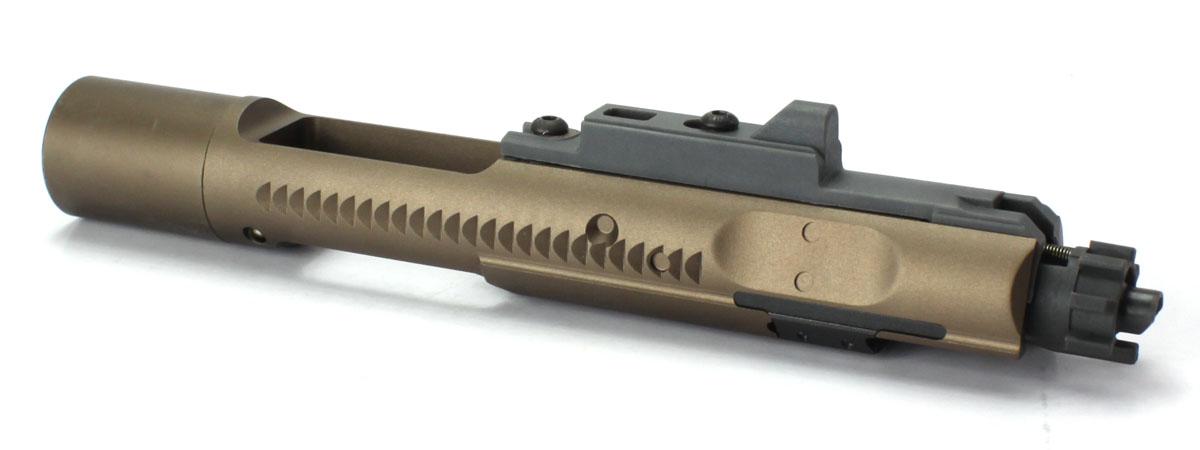 ANGRY GUN 東京マルイ ガスブローバックM4A1ガスブローバックシリーズ対応 ドロップインハイスピードアルミボルトキャリアセット-JWタイプ/FDE