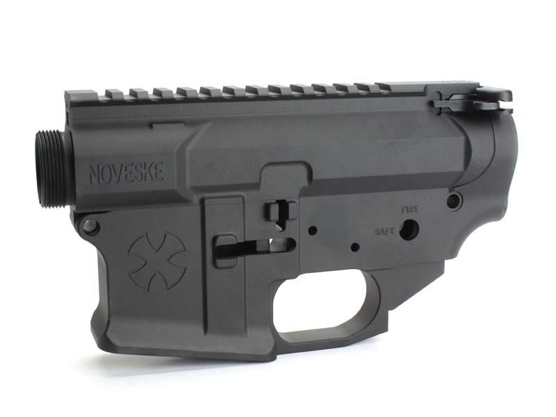 IRON AIRSOFT WA M4シリーズ用 NOVESKE Gen3タイプ リアルサイズレシーバーセット