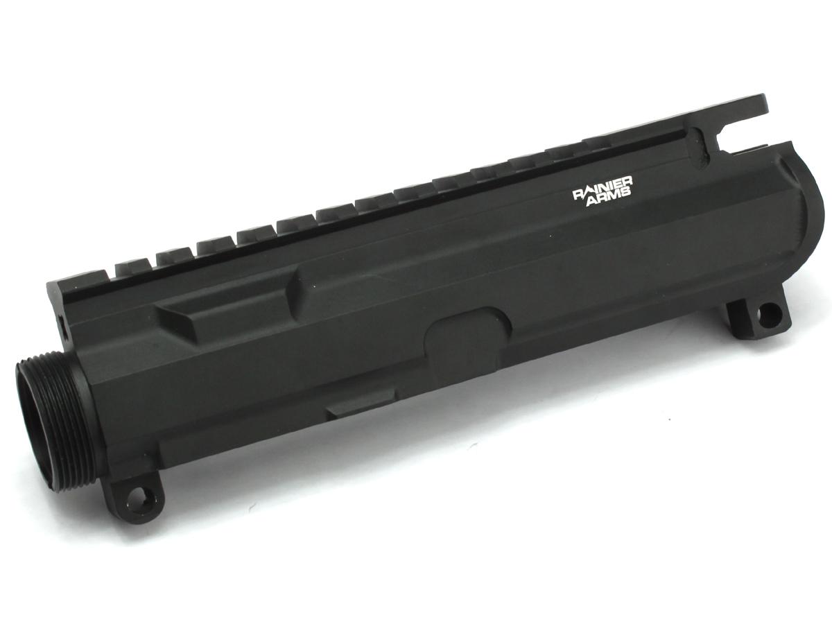 IRON AIRSOFT WA M4シリーズ用 RainierArmsタイプ アルミ削り出しアッパーレシーバー