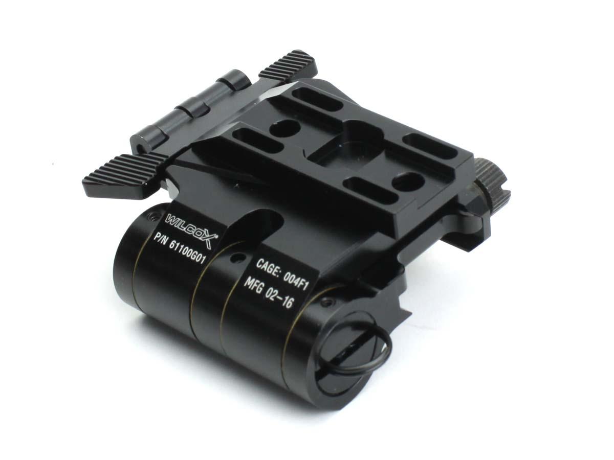 C&C TACTICAL 各社20mmレール対応 Wilcoxタイプ EotecマグニファイアG33/G32 3x専用フリップマウント ブラック