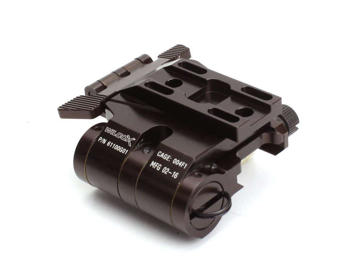 C&C TACTICAL 各社20mmレール対応 Wilcoxタイプ EotecマグニファイアG33/G32 3x専用フリップマウント ブラウン