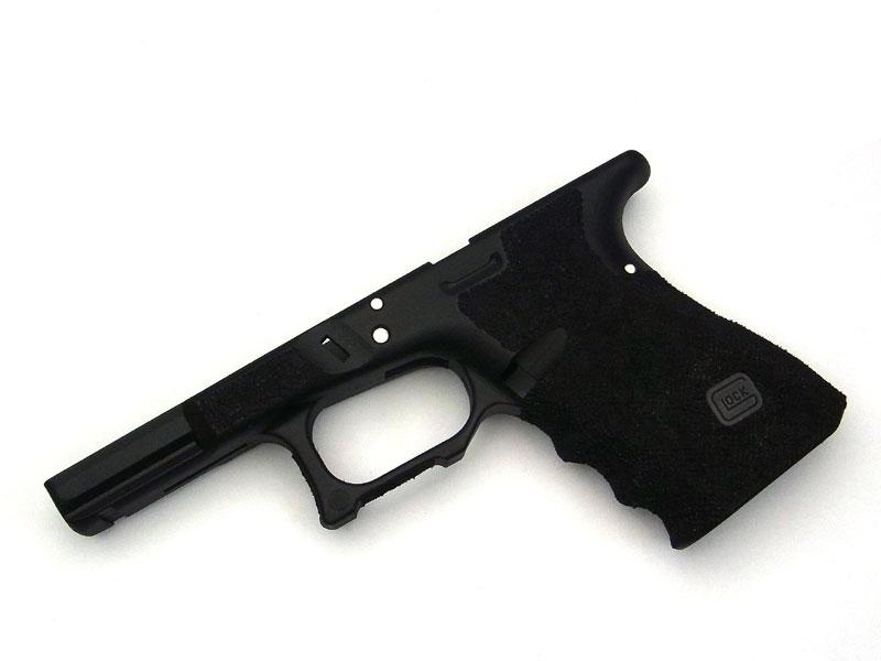SIDEARMS KJ Glock19用 サリエントアームズスタイル ステッピングフレーム ブラック