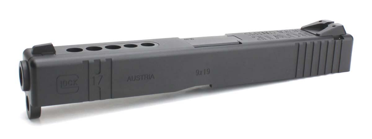 Nebula 東京マルイ Glock17シリーズ対応 Glock17 B.T.C Hybrid Custom アルミスライドセット バレルブラック