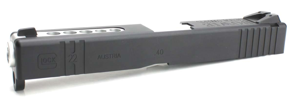 Nebula 東京マルイ Glock17シリーズ対応 Glock22 B.T.C Hybrid Custom アルミスライドセット バレルシルバー