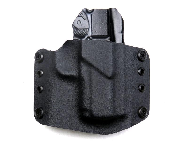 SPETZ GEAR M1911 マイクロコンパクト カイデックスホルスター ベルトループタイプ 右用 ブラック