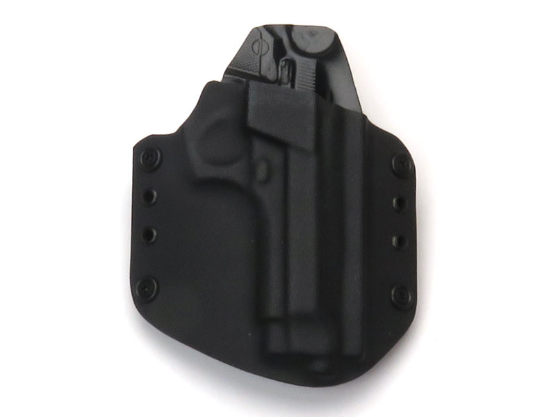 SPETZ GEAR Beretta M92FS用 カイデックスホルスター ベルトループタイプ 右用 ブラック