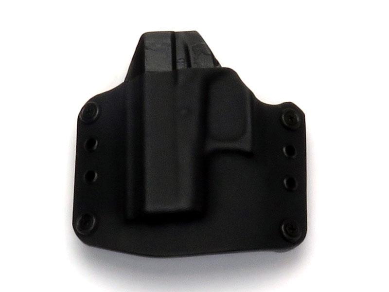 SPETZ GEAR Glock42用 カイデックスホルスター ベルトループタイプ 左用 ブラック