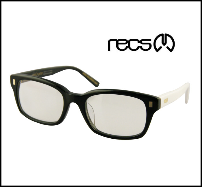 RECS Rex (rage eye control system) sunglasses ITA glasses SP32-01 FAME:BLACK/WHITE