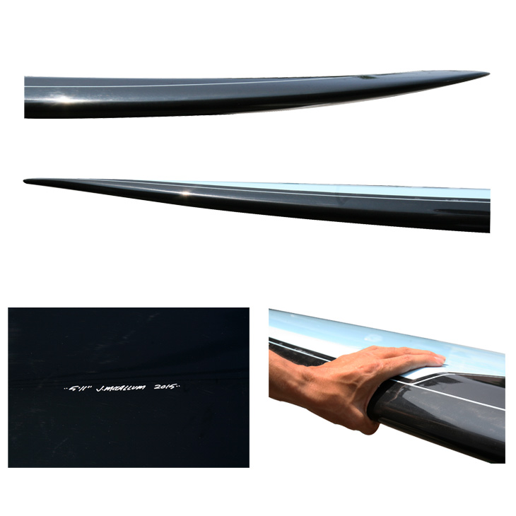 """麦卡勒姆冲浪板倒置标签麦卡勒姆冲浪板颠倒标签 PDX 三: 5 ' 10""""piedi x 三"""