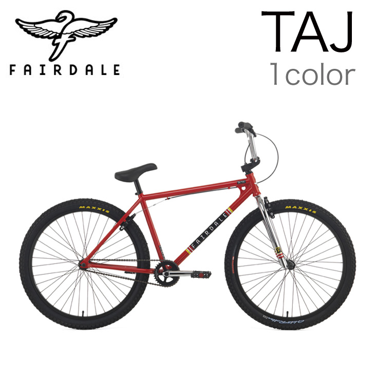 FAIRDALE bike 15 TAJ completed car Taj 2015 model BMX bike CROSS BIKE MTB  header 15 44 cm/RED