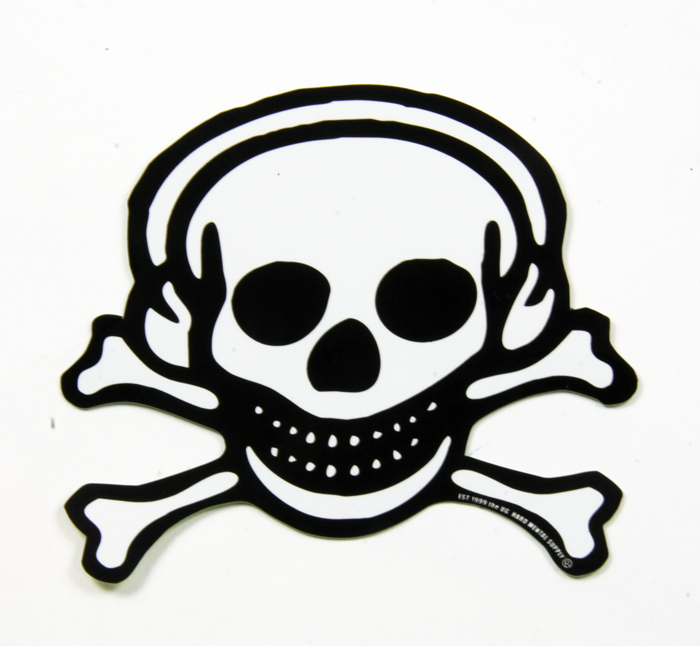 Ug ユージー skull sticker scull sticker size m