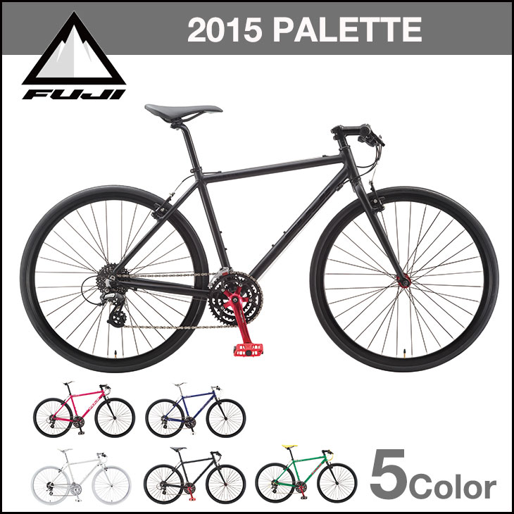 FUJI PALETTE wisteria palette :FIRE RED FUJI BIKES cross bike finished  vehicle 05P30Nov13