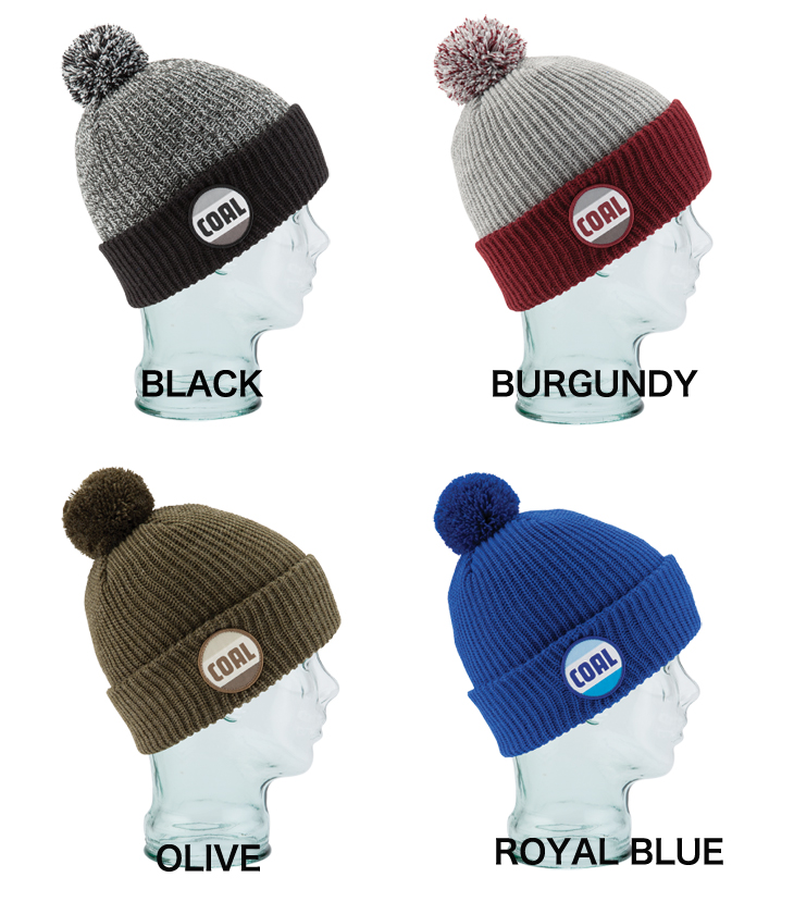 bf4d56fe5 COAL Beanie calls STANWOOD BEANIE Stanwood 2 colors HEAD WEAR hats knit  knit hat unisex outdoor snowboard necessities SNOW SNOWBOARD