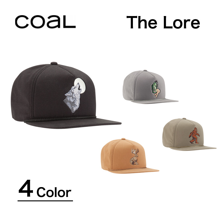 d1ccd426314 COAL Cap calls THE LORE CAP lore each 4 colors HEAD WEAR Hat unisex outdoor  street items