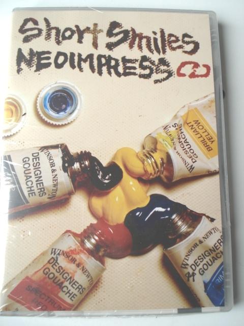 NEOIMPRESSライダー ムービー第五弾 メール便送料無料 DVD ショートスマイルズ SMILES スピード対応 全国送料無料 SHORT パークライディングメイン 保障