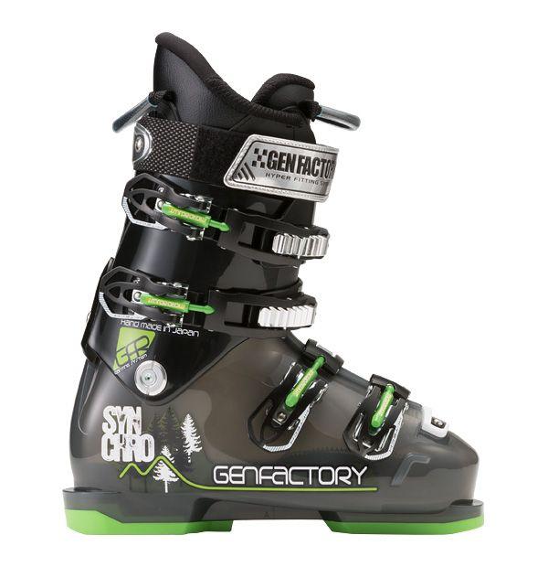 GEN SYNCHRO SKI BOOTS INTUITION厳 ゲン シンクロ スキーブーツ 2014/2015 14/15モデル フリースキー専用モデル国内正規品保証書付