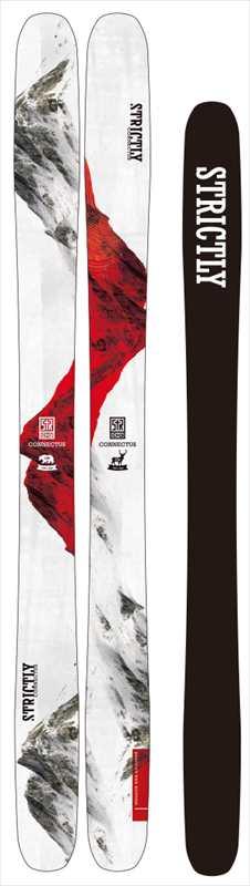 STRICTLY SKICONNECTUS ストリクトリー スキー コネクタス2018/19167,172送料無料!国内正規品 ファットスキー