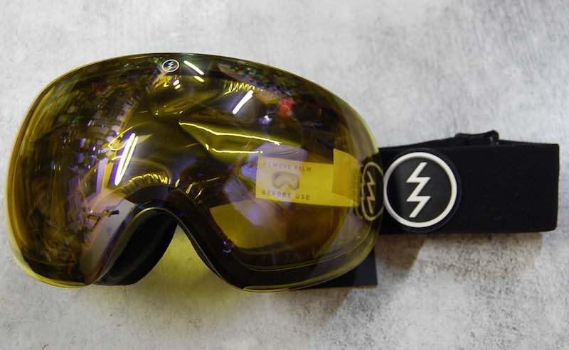 d0ecb3c43dc ELECTRIC EG3 Gloss Black Yellow Blue Chrome (the blue mirror coating electric  goggles snowboarding lens deployment regular article horse mackerel Ann ...