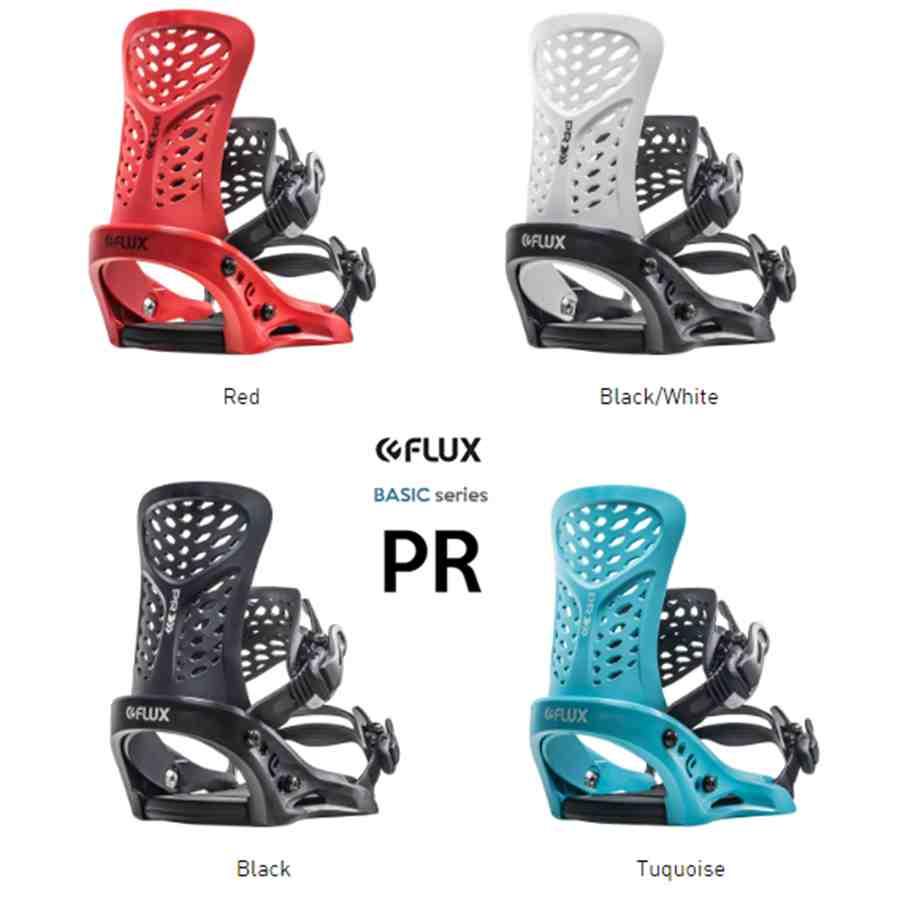 FLUX PR フラックス ピーアール ビンディング2019/2020モデル国内正規 保証書付 19-20 シンプルで軽量 コスパ最高モデル スノボードステッカーサービス