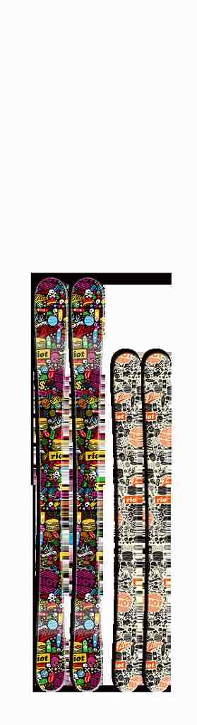 Fun The Stick 120 130 140riot ski ライオット スキー激レアブランド国内正規品 保証書付 FREESKI フリースタイルスキーJr用フリースタイルスキー 子供だって飛びたい いや子供こそ飛びたいんだ!