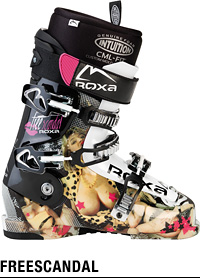 FREE SCANDAL ROXA SKI BOOTS free scandal rocks a ski boot domestic genuine warranty certificate with original boot case service!