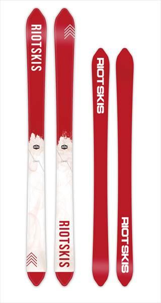 CYPER RIOT SKI 165 172 180ライオットスキー 2017/2018 17/18 17-18激レアブランド国内正規品 保証書付 FREESKI
